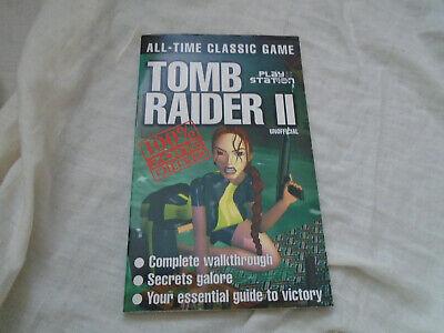 Ps1 Cheat Guide Book Tomb Raider 2 Guide Magazine Supplement Ebay