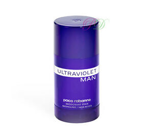 Paco Rabanne Ultraviolet Man Deodorant Stick 75ml Men Ultra Violet New - Middlesex, United Kingdom - Paco Rabanne Ultraviolet Man Deodorant Stick 75ml Men Ultra Violet New - Middlesex, United Kingdom