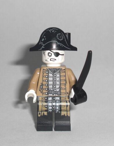 LEGO Fluch der Karibik Leutnant Lesaro Figur Silent Mary Lieutenant 71042
