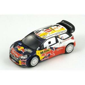 1/43 Citroen Ds3 Wrc Total Red Bull Gagnant Adac Rally Germany 2011 S.ogier 9580006933225