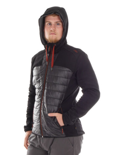 show original title Details about  /CMP Function Jacket Quilted Jacket Hoodie-Jacket Black-Easy
