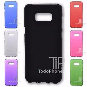 Samsung-Galaxy-S8-Plus-4G-6-2-034-Funda-SILICONA-MATE-Tpu-Gel-7-COLORES