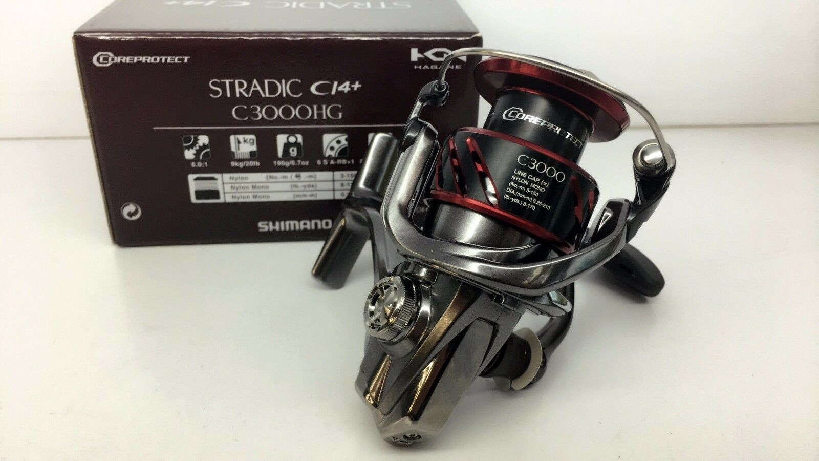 SHIMANO STRADIC C3000HG FB CI4+ Reel C3000HGFB  FEDEX PRIORITY 2 DAYS SHIP TO USA  export outlet