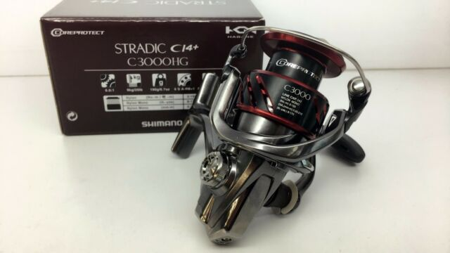 SHIMANO STRADIC C3000HG FB CI4+ Reel C3000HGFB & Chemical Light