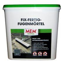 MEM Fix-Fertig-Fugenmörtel 12,5 kg basalt