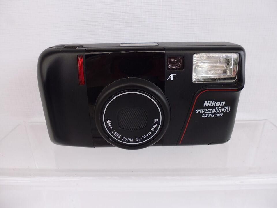 Nikon, TW Zoom 35-70 Quartz Date, Perfekt