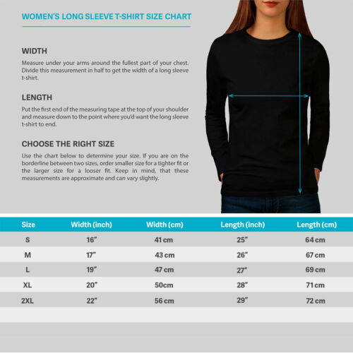 Shark Great White Women Long Sleeve T-shirt NEWWellcoda