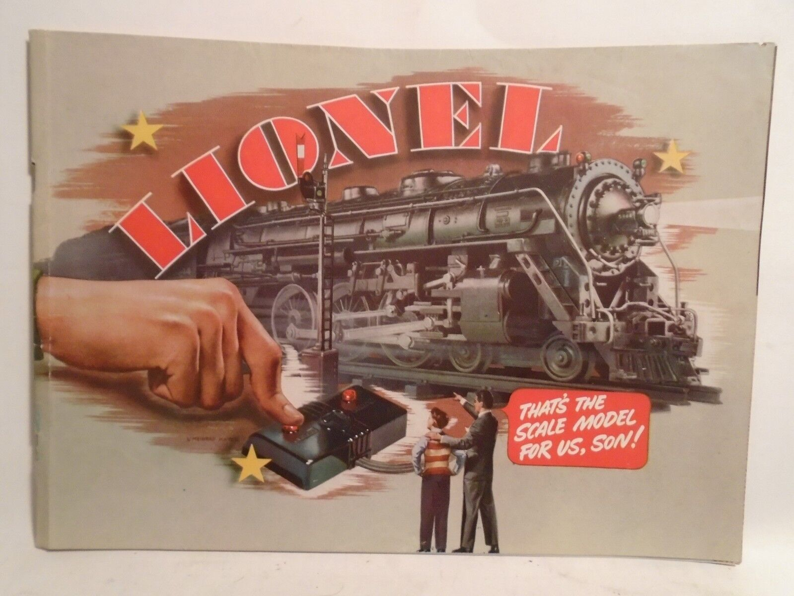 ORIGINAL LIONEL 1940 CATALOG IN NEAR MINT CONDITION