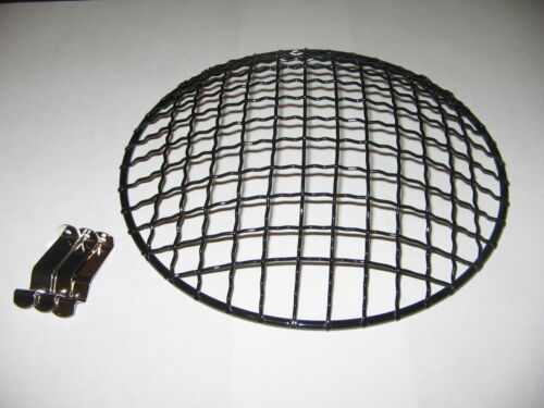 Motorcycle headlight grille cover BLACK Suzuki GS750 GS850 GS550 GT750 7 inch