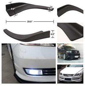 2x-Auto-Car-Front-Shovel-Bumper-Scratch-Resistant-Body-amp-Exterior-Styling-Decor