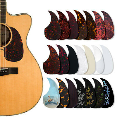 adhesive pvc acoustic guitar pickguard soft scratch plate thickness ebay. Black Bedroom Furniture Sets. Home Design Ideas