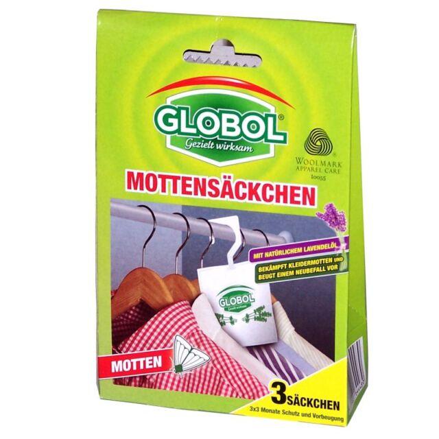 Globol Mottenschutz-Säckchen Mottensäckchen  3 Stück #WS