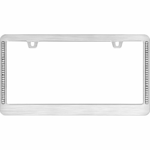 Cruiser Accessories License Plate Frame Neo Diamondesque Titanium 15002