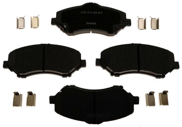 Disc Brake Pad Set-Ceramic Disc Brake Pad Front ACDelco Advantage 14D1273ACH