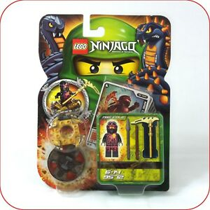 # Lego 9572 Ninjago Nrg Cole Spinner Pack Neuf Très Rare-afficher Le Titre D'origine Apparence Attractive