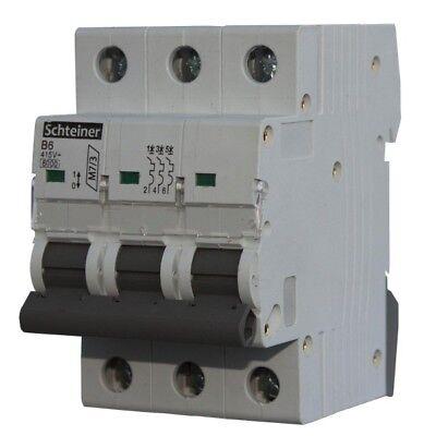 Leitungsschutzschalter LS-Schalter MCB Sicherungsautomat C32A 3P GACIA T/ÜV