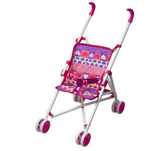 Sillita Ver Título Del Bebé Jogger Niñas De Para Muñecas Rosa Buggy Corazones Cochecito Detalles Original Juguete 53R4ALj