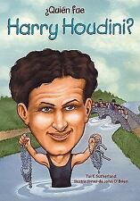 Quien fue Harry Houdini? / Who Was Harry Houdini? (Spanish Edition)-ExLibrary