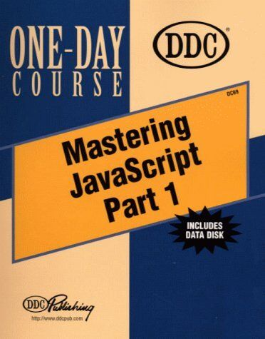 Mastering JavaScript: Part 1 One-Day Course