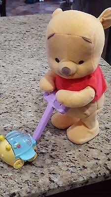 Fisher Price Pop Along Pooh~Disney Winnie the Pooh~Walking Talking Singing FUN!