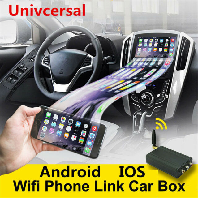 CAR Wi-Fi IPHONE AIRPLAY ANDROID MIRACAST /& SCREEN MIRRORING FOR CAR STEREOS