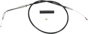 Drag-Specialties-Black-24-5-034-Idle-Cable-for-Harley-Big-Twin-Sportster-Models
