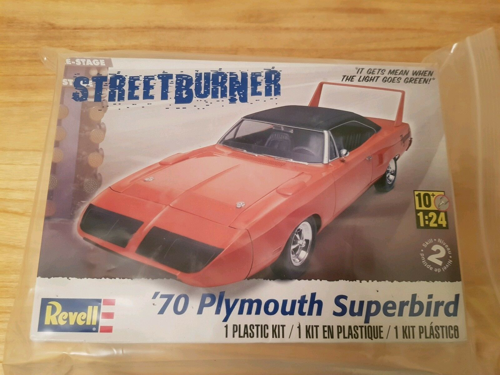 REVELL 85-4921 1 24 STREETBURNER ´70 Plymouth Superbird    Zarte