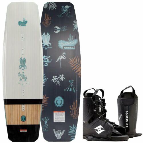 HYPERLITE UNION Wakeboard Flex Board Grindbase Cable Wakeboard-Set Bindung 143cm