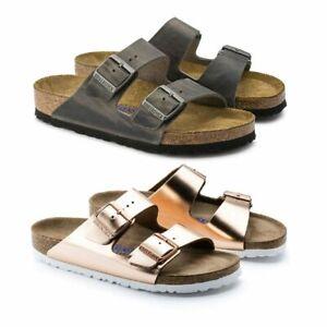 Birkenstock Arizona Damen Sandalen   Sandaletten   Schlappen   Leder - NEU