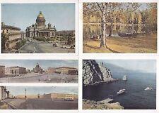 RUSSLAND 1961-1965  20  GANZSACHEN  KARTEN  MIT  BILDER   UNGEBRAUCHT