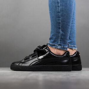 Damen Basket Heart NS Sneaker Schuh 364108 37 | puma black