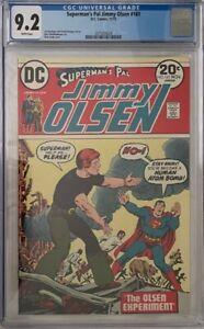 CGC 9.2 SUPERMAN'S PAL JIMMY OLSEN #161 DC 1973