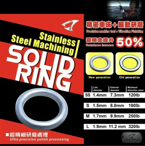 JIGGING MASTER NEW GENERATION STAINLESS STEEL MACHINING SOLID RINGS