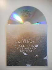 ANDY BURROWS : ALL THIS I'VE HEARD BEFORE [ CD SINGLE PORT GRATUIT ]
