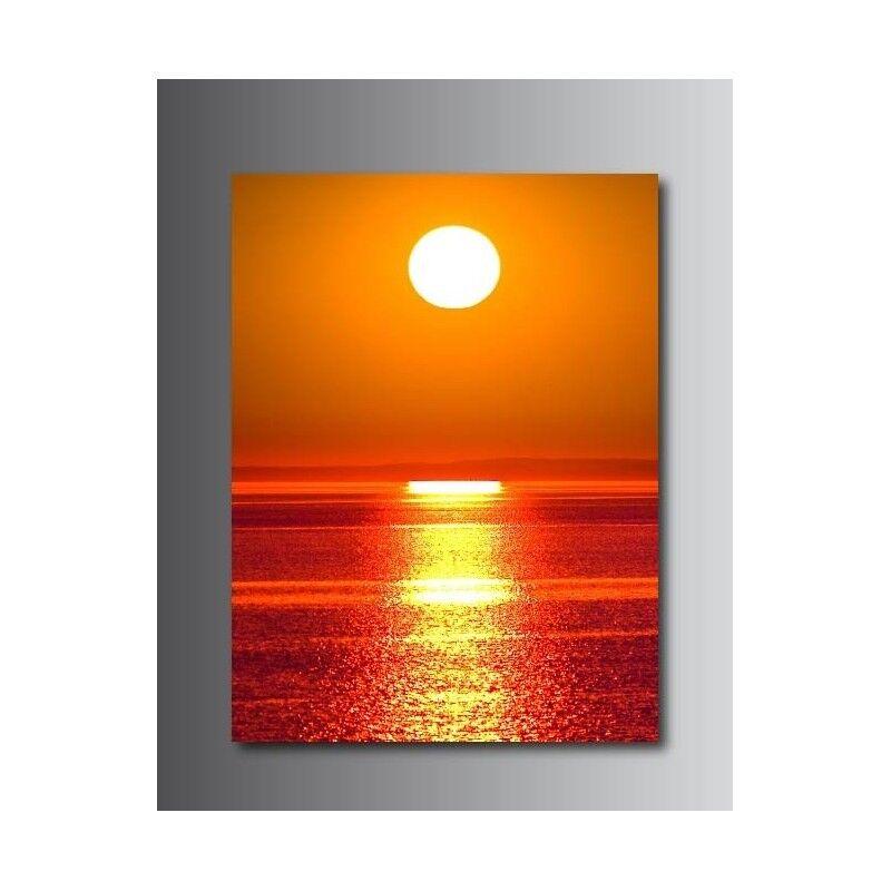 Tableaux toile déco rectangle verticale 63335722 couché de soleil 63335722 verticale 543e14