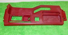 1987 1988 1989 1990 1991 1992 1993 Mustang LX GT ORIG RED CONSOLE TOP TRIM BEZEL