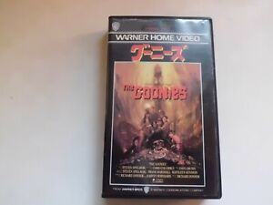 The Goonies Richard Donner Japanese Movie Vhs Japan Horror 1985 Sean Astin Ebay