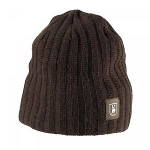2e57ec547fc Image is loading Deerhunter-Recon-Knitted-Beanie-Hat-Olive-Green-Country-