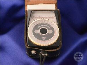 Leningrad 4 Light Meter with Case - 8059