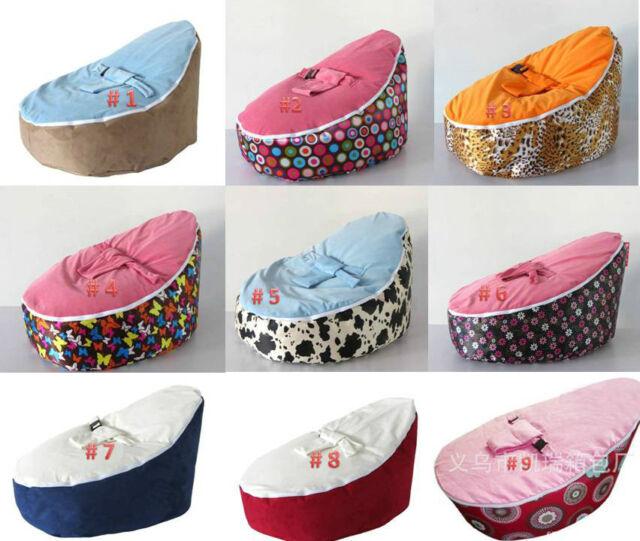 Newborn Baby Todler Bean Bag Kid Portable Nursery Seat