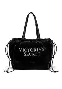 Bling Victorias Travel Luxe Secret Glamour Tote tas Ltd Edition Velvet Nwt Black trdQsxhC