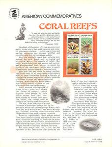 130-15c-Coral-Reefs-1827-1830-USPS-Commemorative-Stamp-Panel