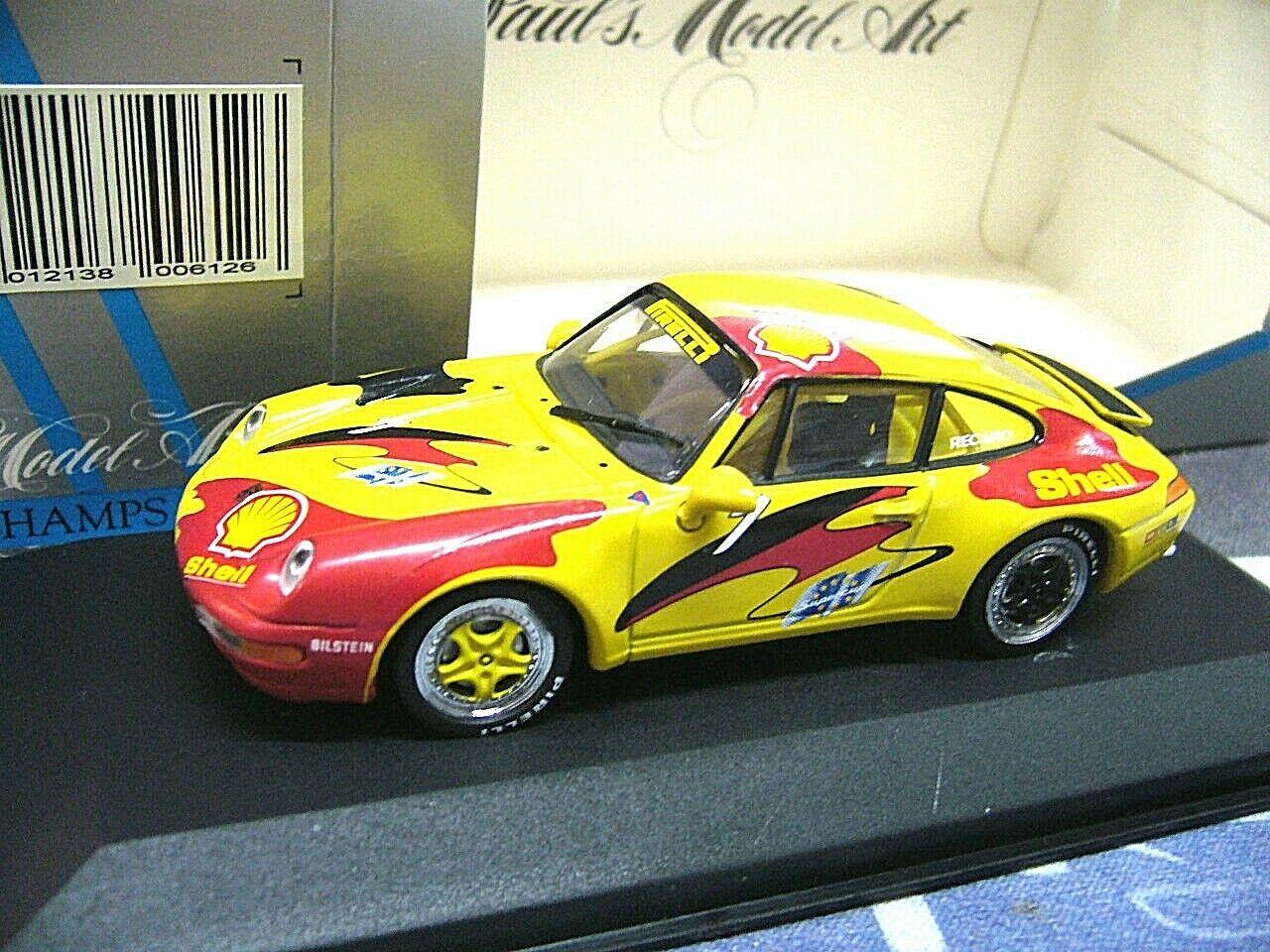 Porsche 911 993 Carrera SUPERCUP VIP Cup 1994  1 Shell MINICHAMPS Pma 1 43