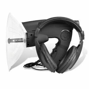 vidaXL Sound Amplifier Listening & Observing Device Stereo System Recorder