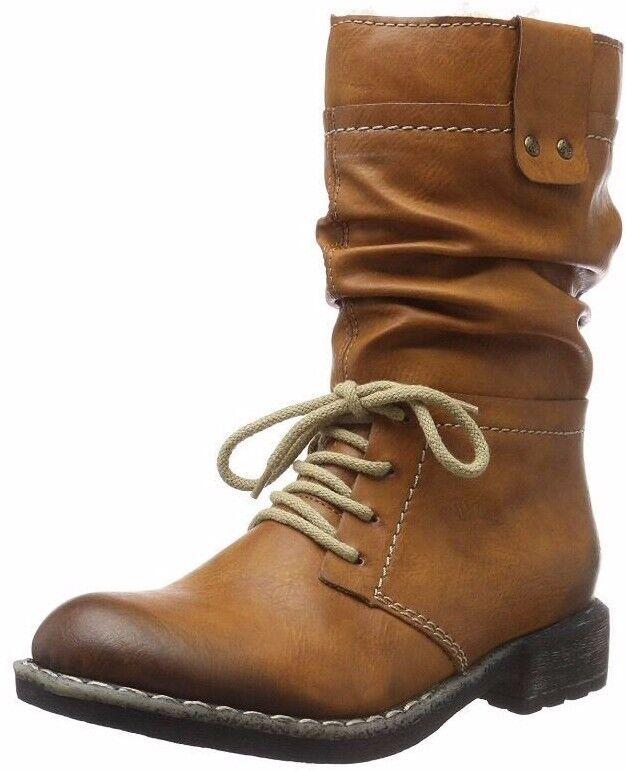 Rieker 74657 Women's Ankle Boots, Brown (Cayenne 25) 8 UK 42 EU