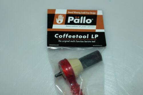 """Pällo Pulizia Spazzola coffeetool /""""LP/"""" COLORE ROSSO per espressomachinen"""
