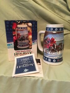 1995-Lighting-The-Way-Home-Budweiser-Holiday-Stein