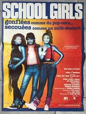 Affiche SCHOOL GIRLS Girls just want to have fun SARAH JESSICA PARKER 40x60cm