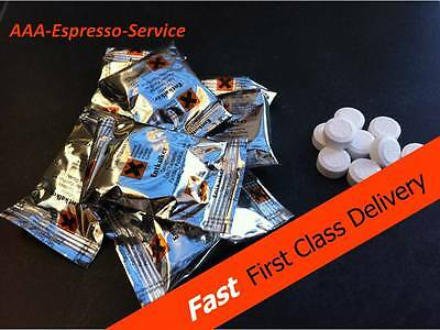 24x Descaling Bosch 25x Cleaning tablets for Jura Miele Gaggia Siemens