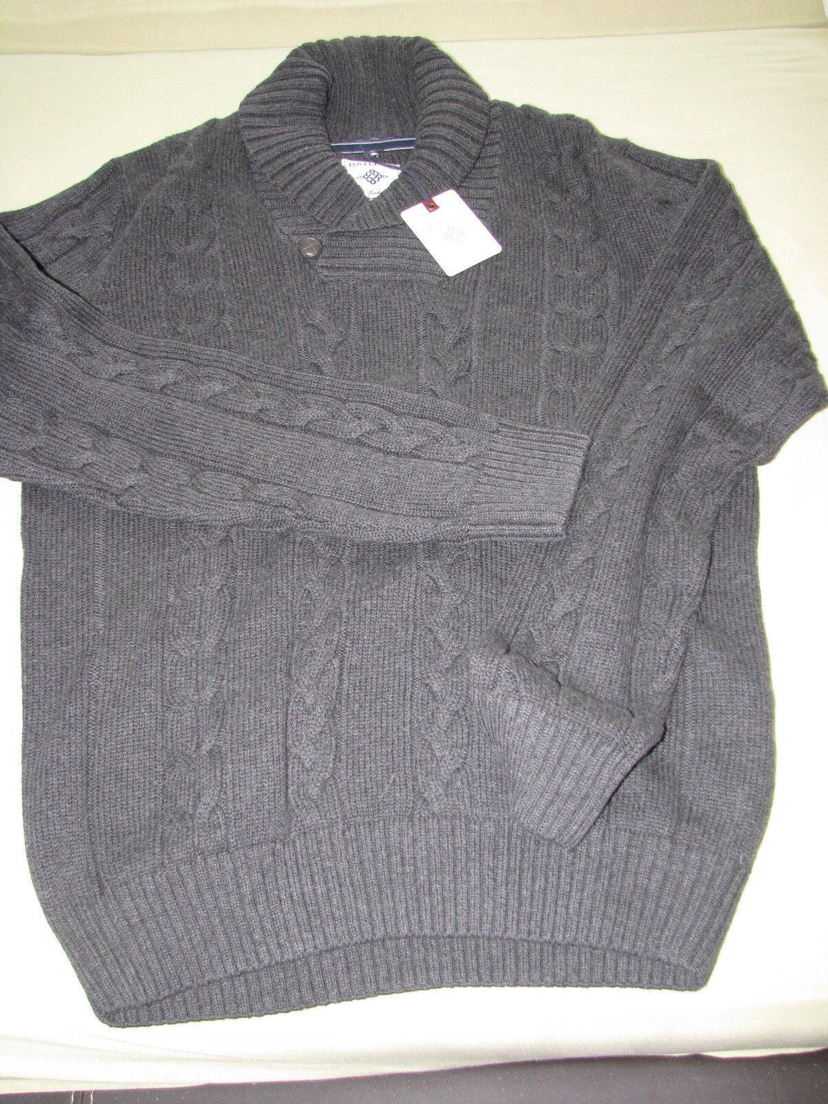 Baileys Herren Pullover Grau  Gr XXL Baumwollmischung